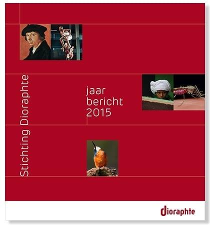 cover dioraphte jaarbericht 2015